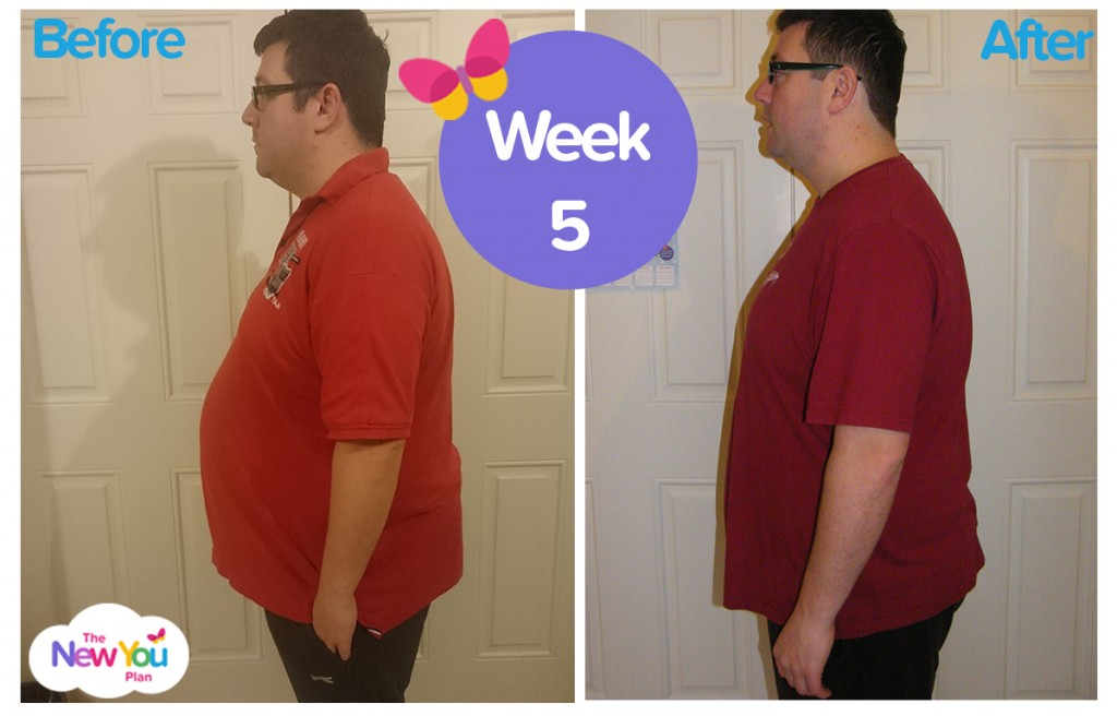 Darren week 5 total food replacement vlcd results