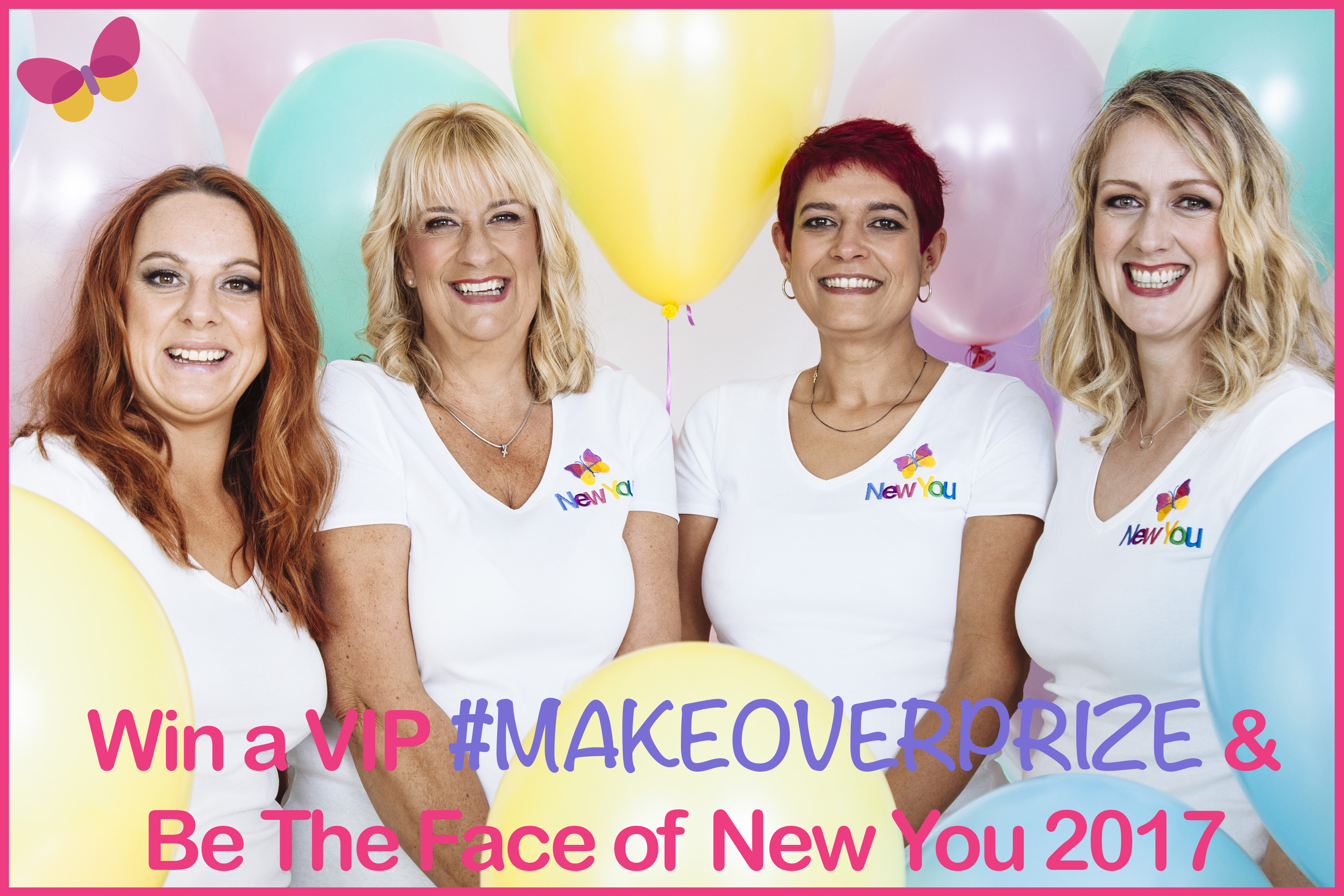 Win a VIP #MAKEOVERPRIZE & Be The Face of New You 2017