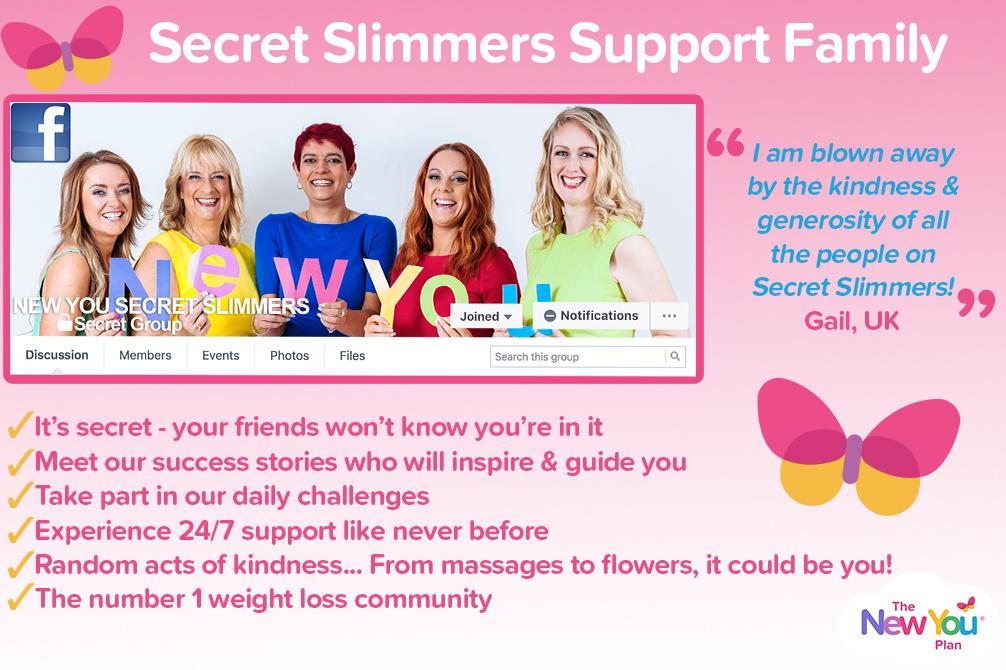 New You Plan Secret Slimmers
