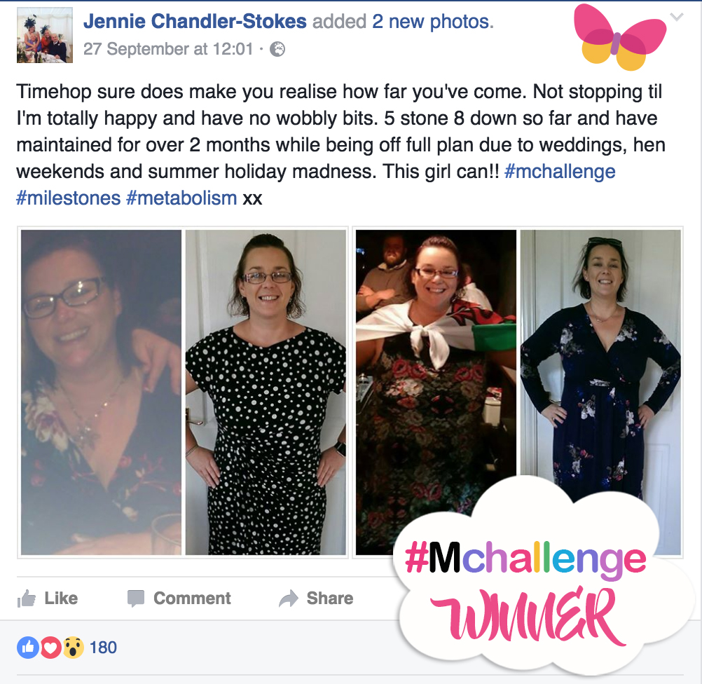 New You Plan #Mchallenge