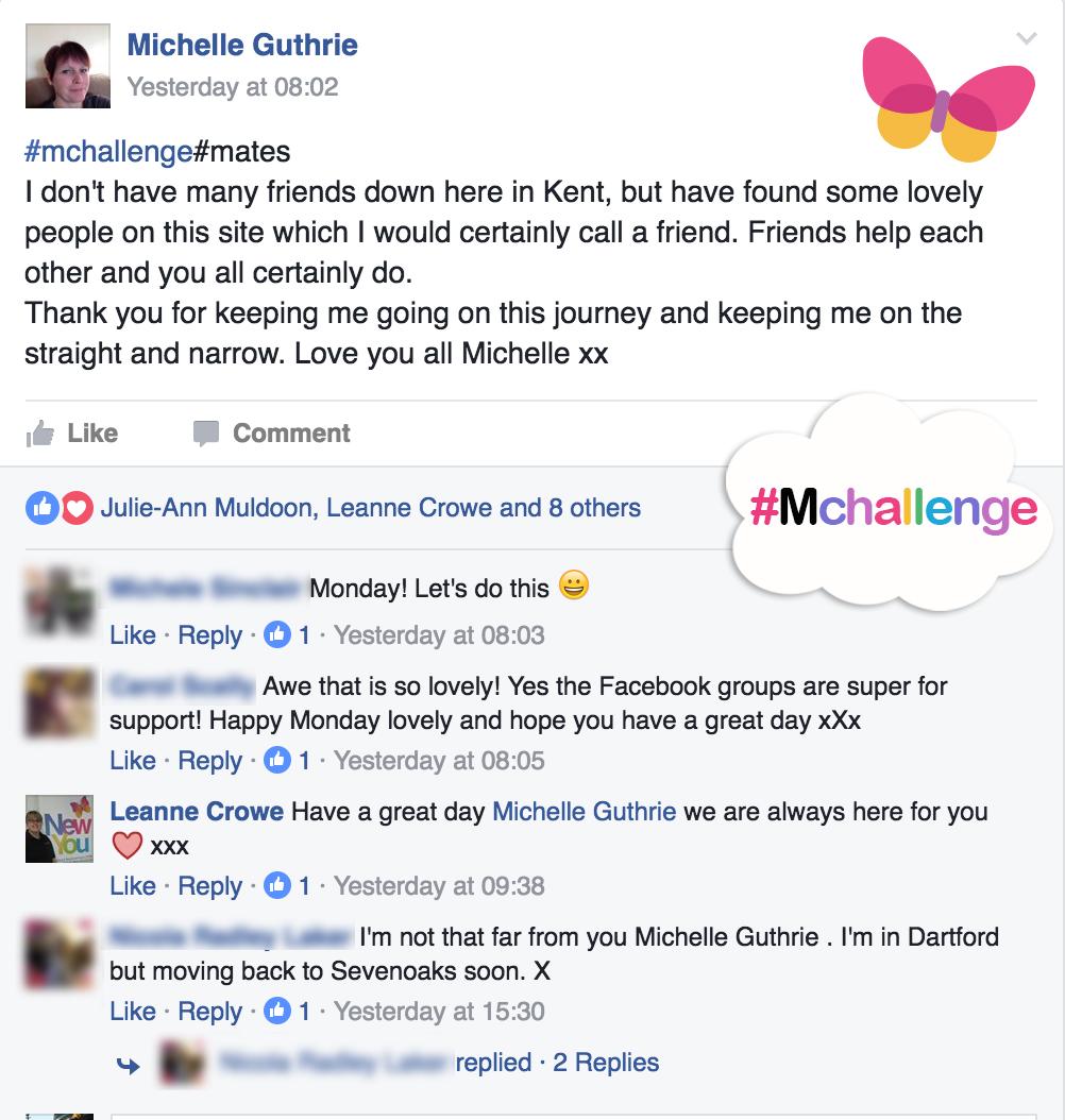 New You Plan #Mchallenge