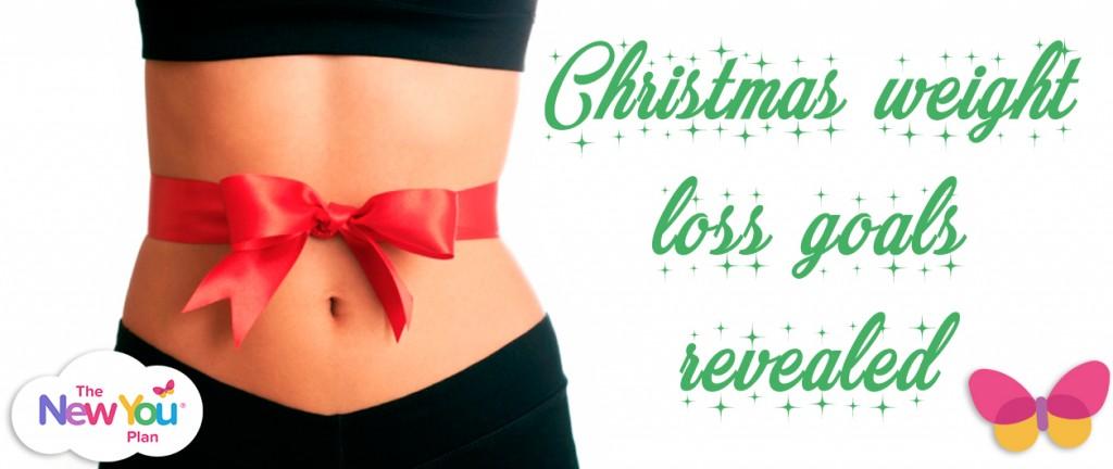 Christmas weight loss goals