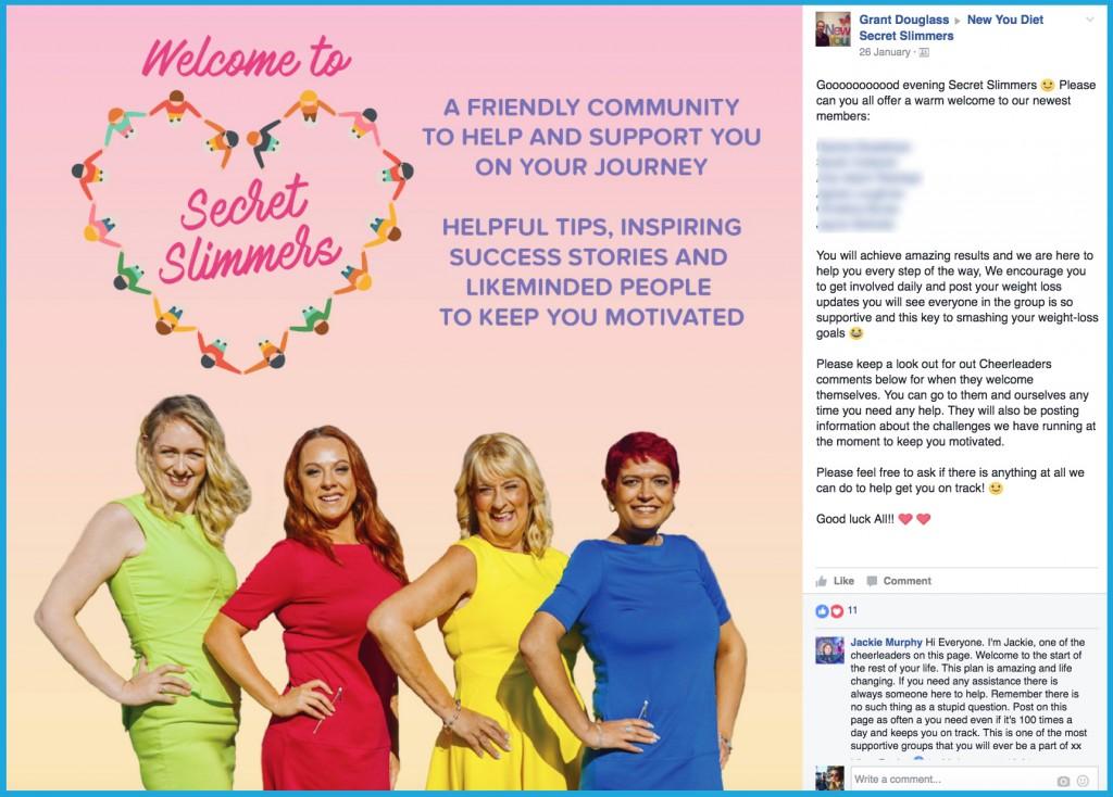 Secret Slimmers family