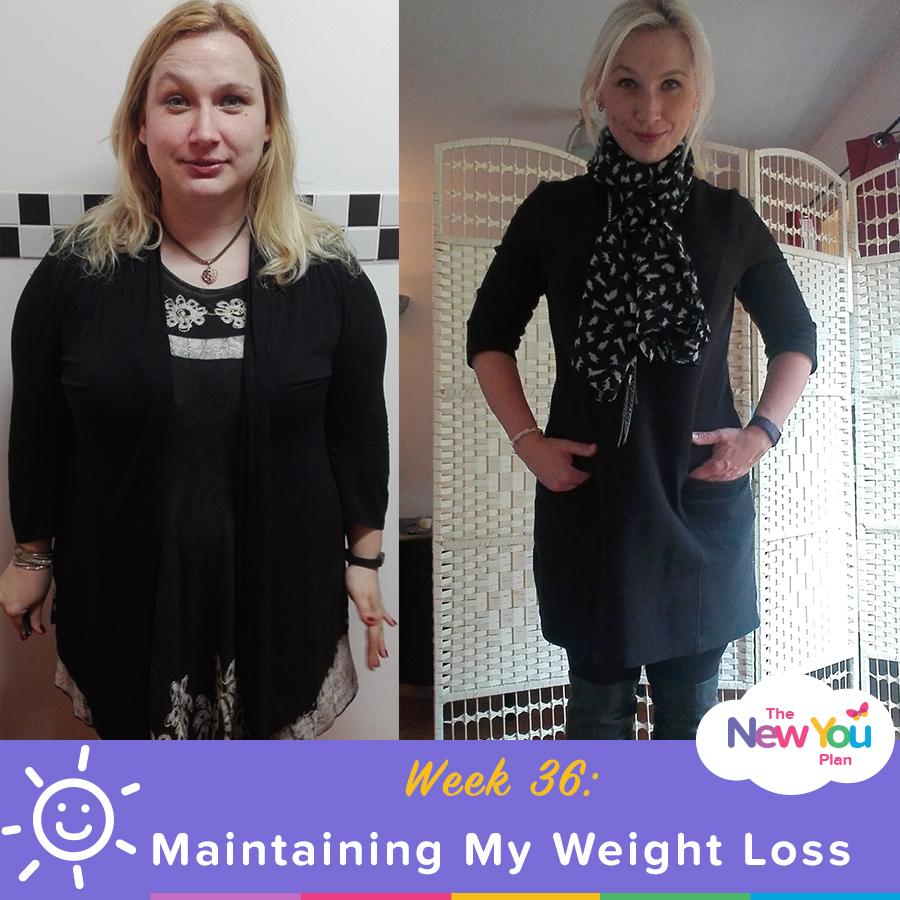 Maintaining my weight loss