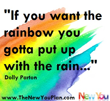 If You Want the Rainbow you gotta put up with the rain!