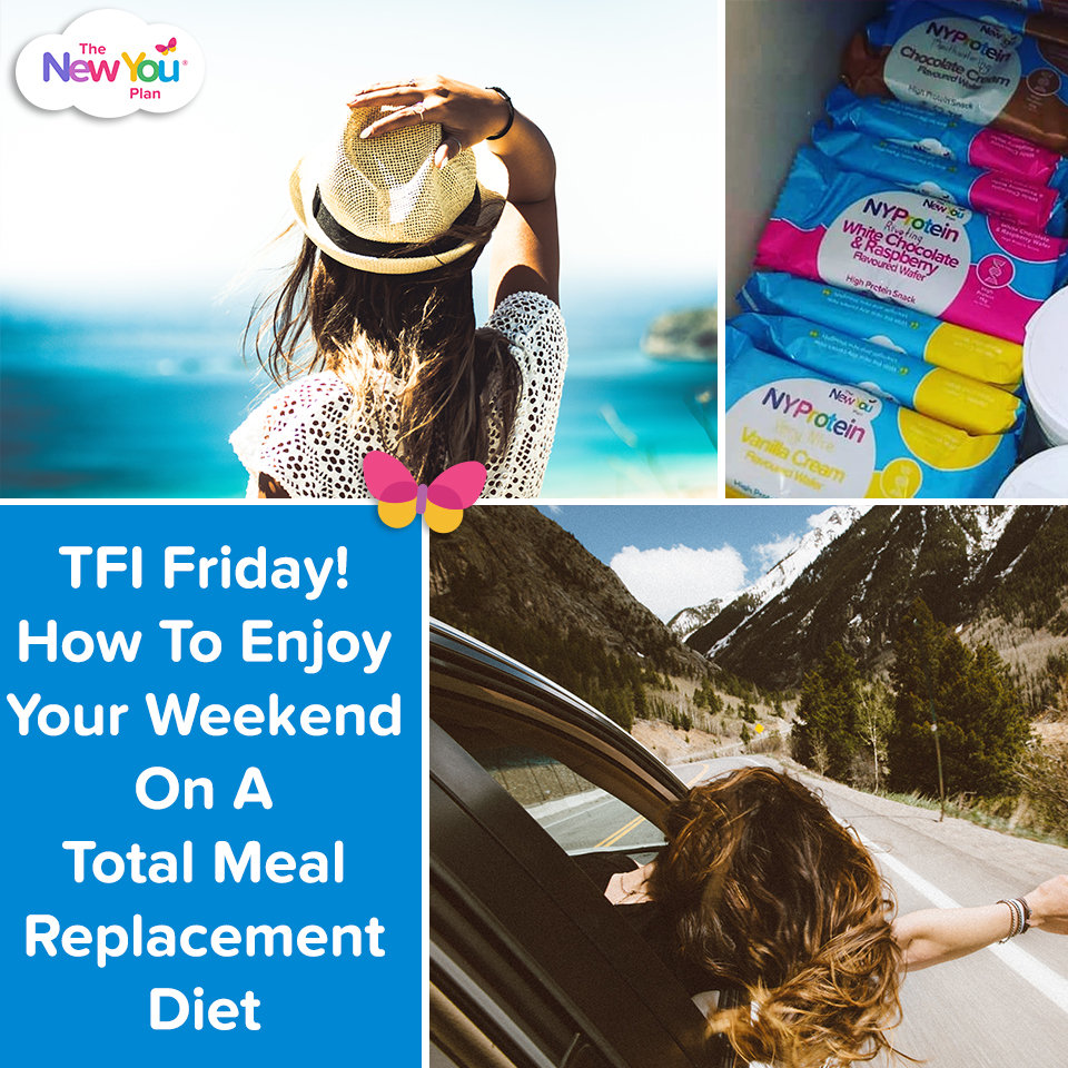 TFI Friday! How To Enjoy Your Weekend On A Total Meal Replacement Diet