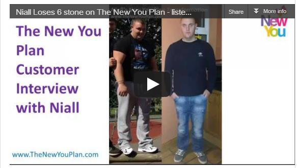 INTERVIEW – Niall Loses 6 Stone, Listen Now!!*