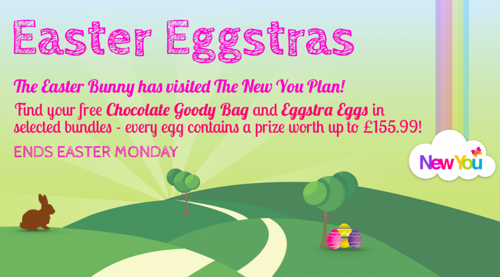 The New You Plan   Easter Eggstras   VLCD