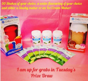 Tuesday Prize draw August
