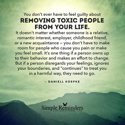 Lesson 9 Quot Remove Toxic People Quot