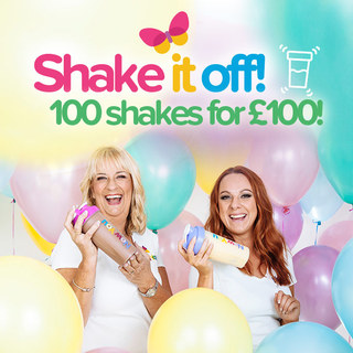 [SPECIAL OFFER] SHAKE IT OFF 100 Weight Loss Shakes for Just 100 Pounds