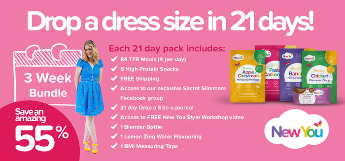 Dropping A Dress Size Has Never Been Easier New You Plan 3 Week T