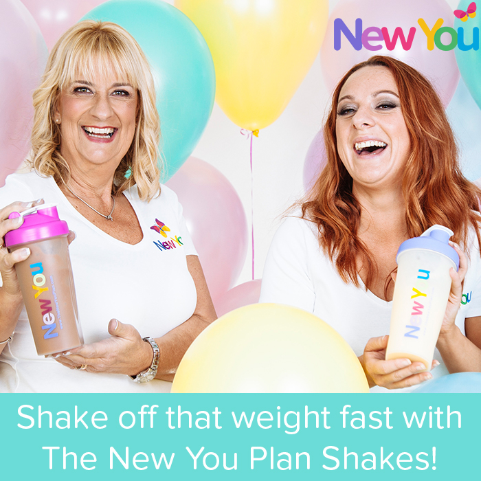 Shake off that weight fast with The New You Plan Shakes!*