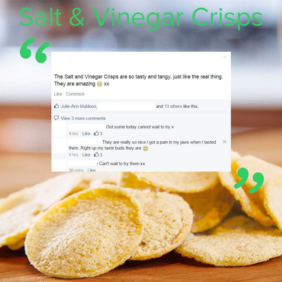 New You Plan Salt & Vinegar crisps review