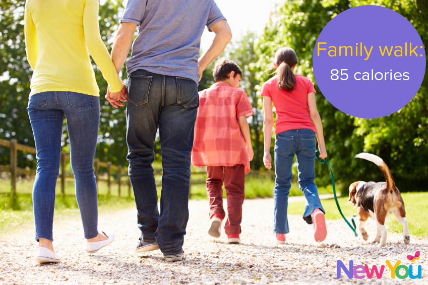 5 fun ways to get active with your family