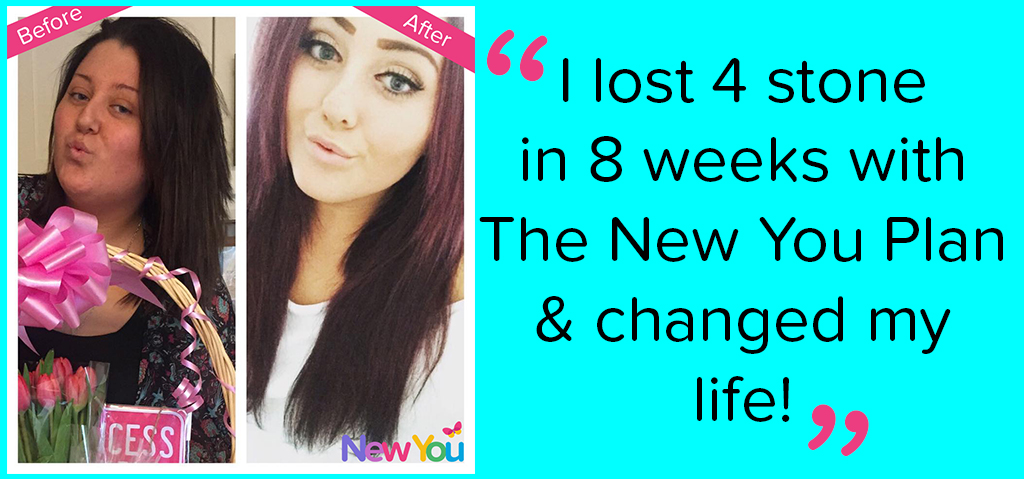 Amelia lost 4 stone with The New You Plan