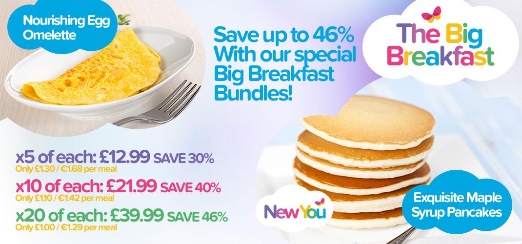 New You Plan big breakfast meals