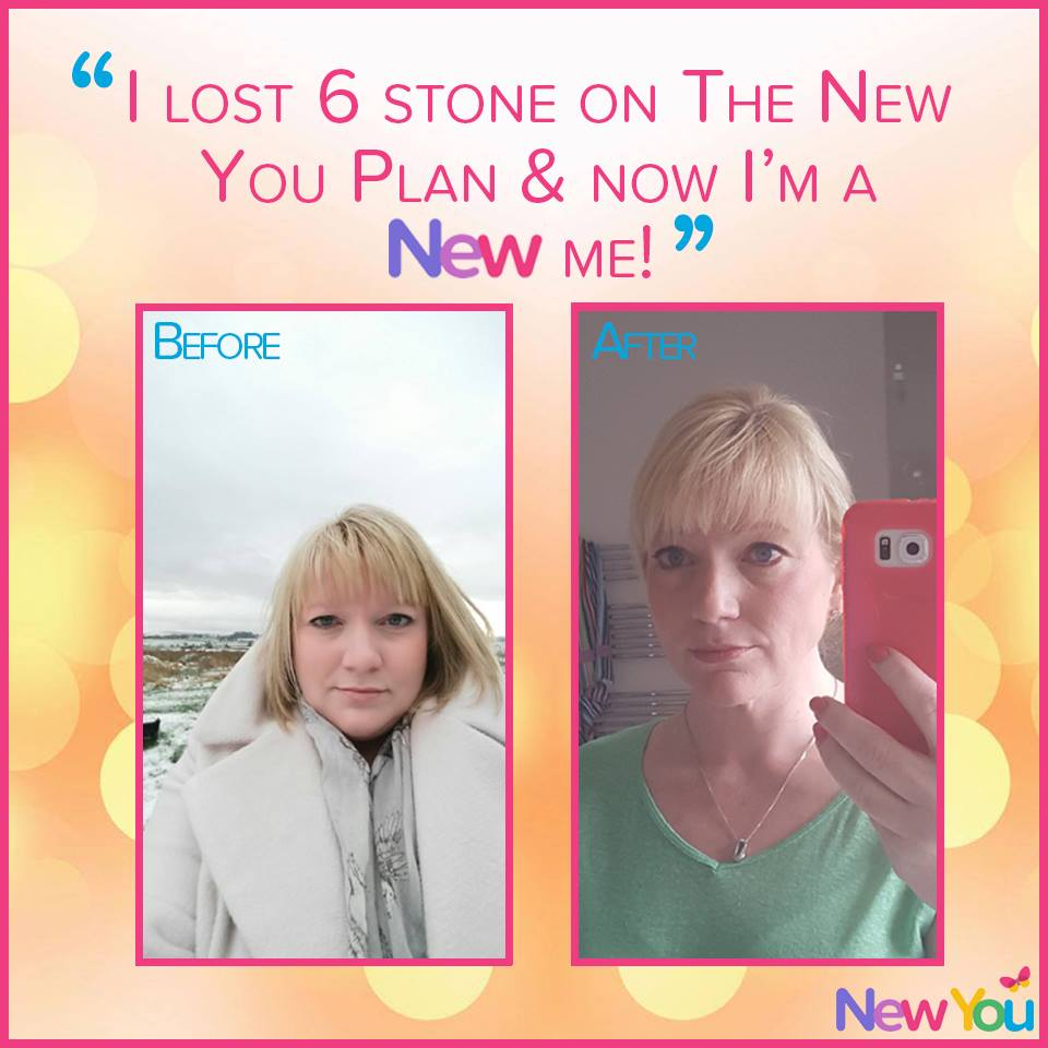 """Customer interview: """"I lost 6 stone with The New You Plan & I'm loving the new me!""""*"""