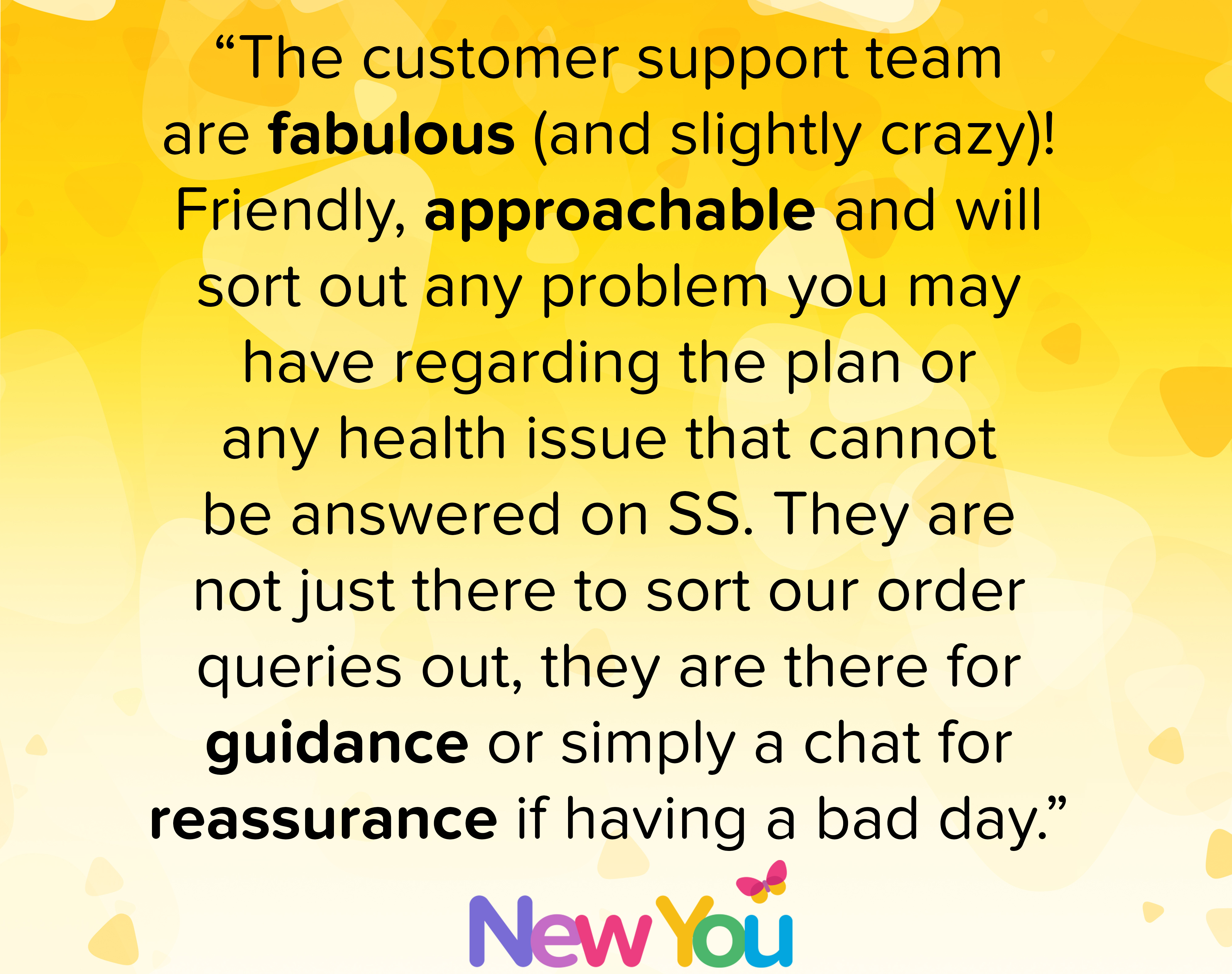 Candida talks about the amazing customer service team