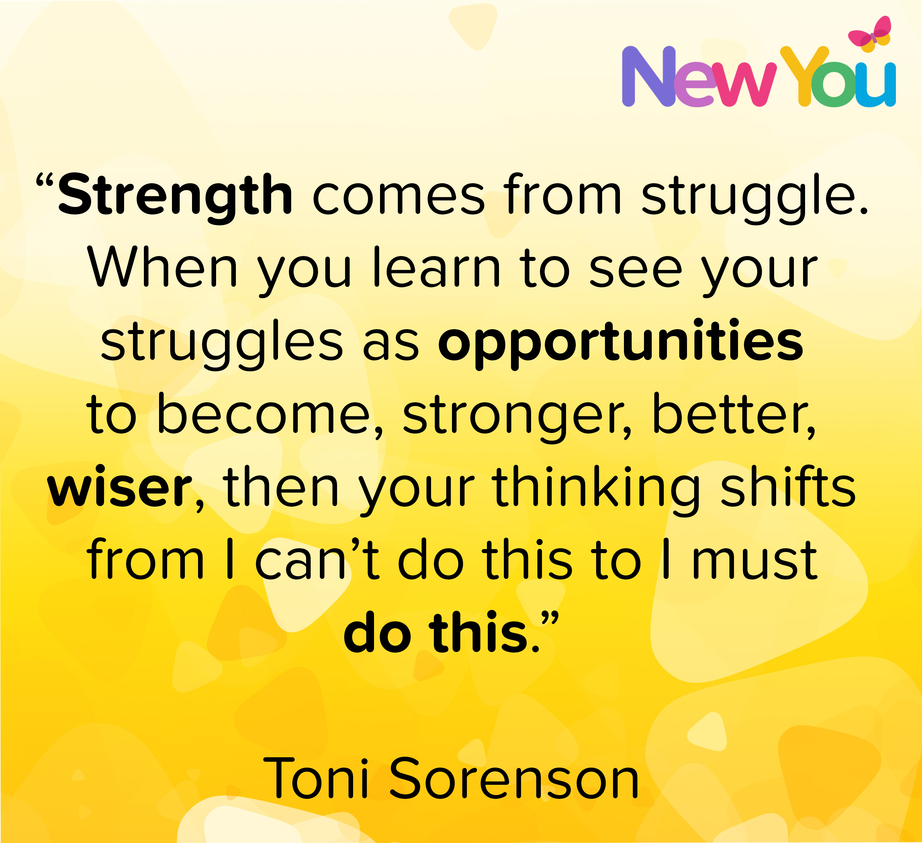 Candida talks about strength