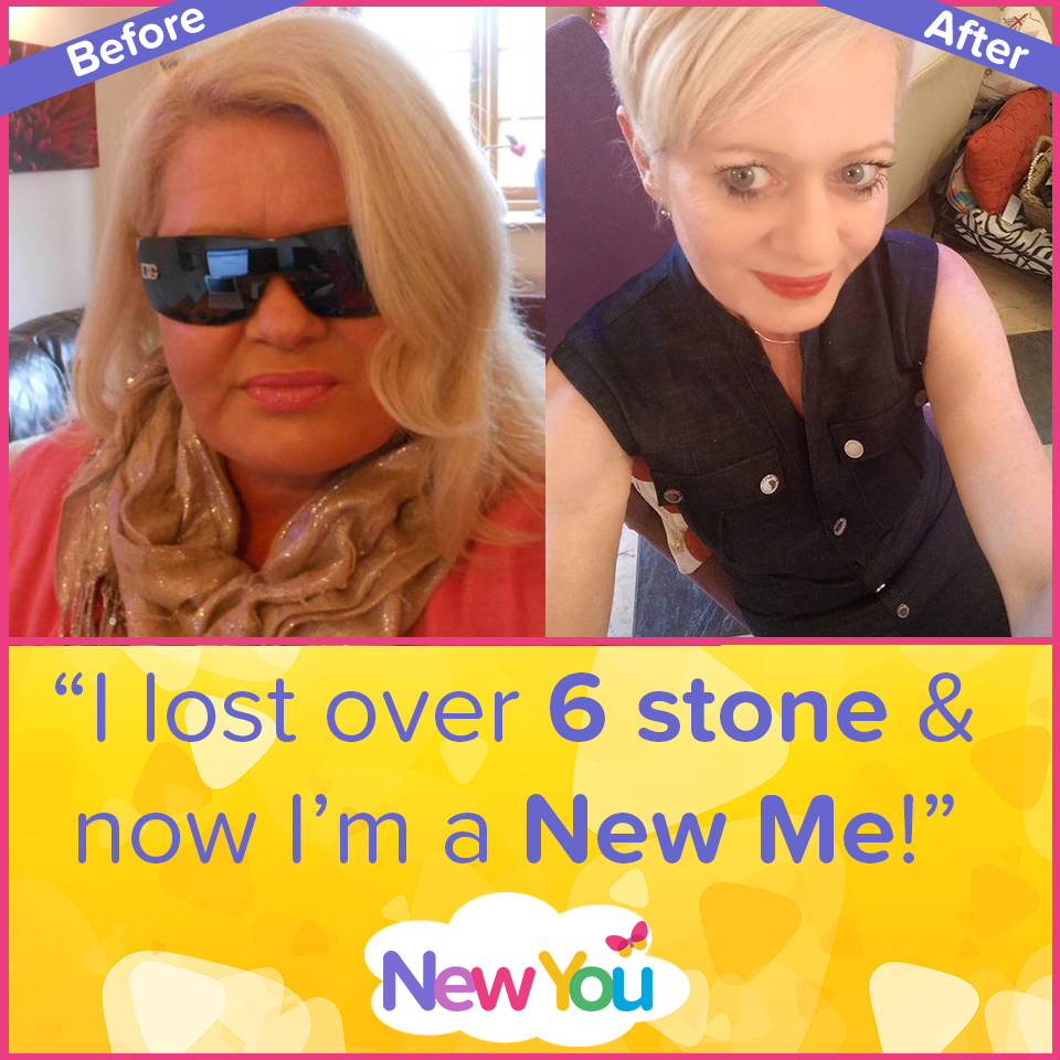 """Customer interview: """"I lost 6 stone 2 lbs & transformed my life with The New You Plan!""""*"""