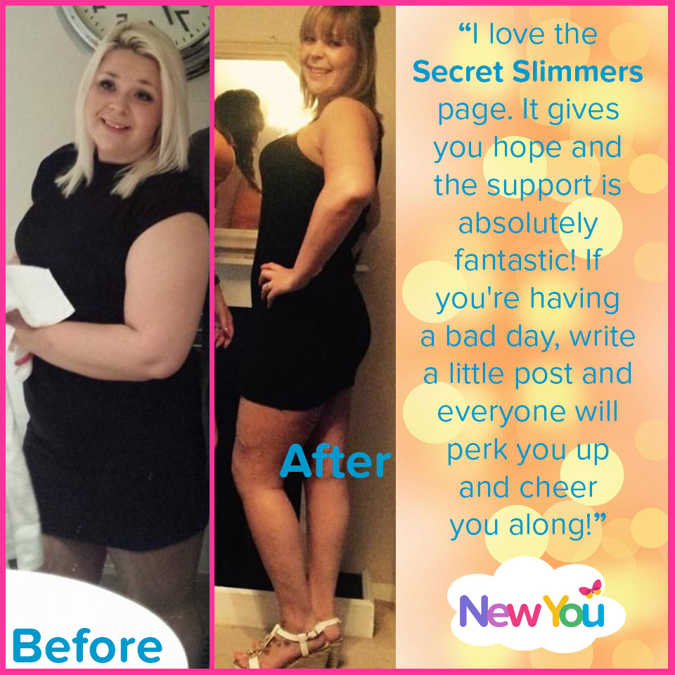 """I love the support from Secret Slimmers"""