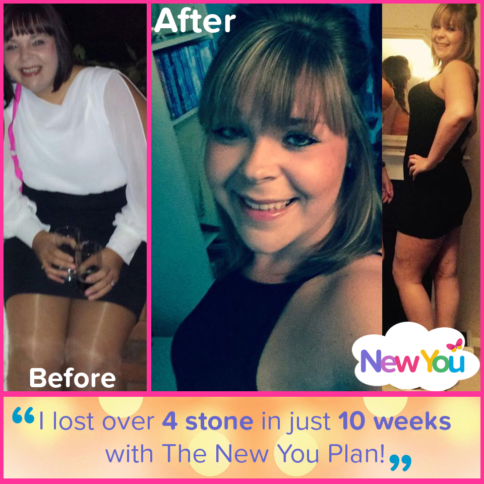 Customer interview: Hannah loses 4 stone 1 pound in 10 weeks!*