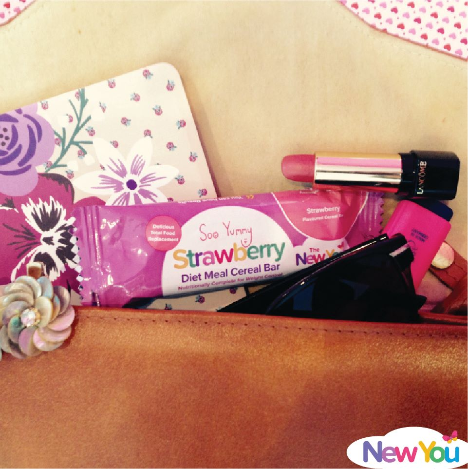 New You Plan Strawberry Bar