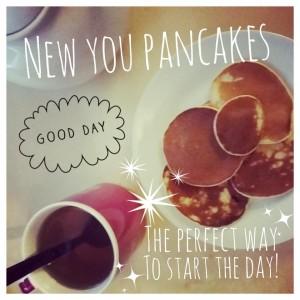 New You Plan Pancakes
