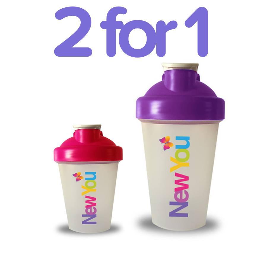 New You Plan 2-4-1 Blender Bottles