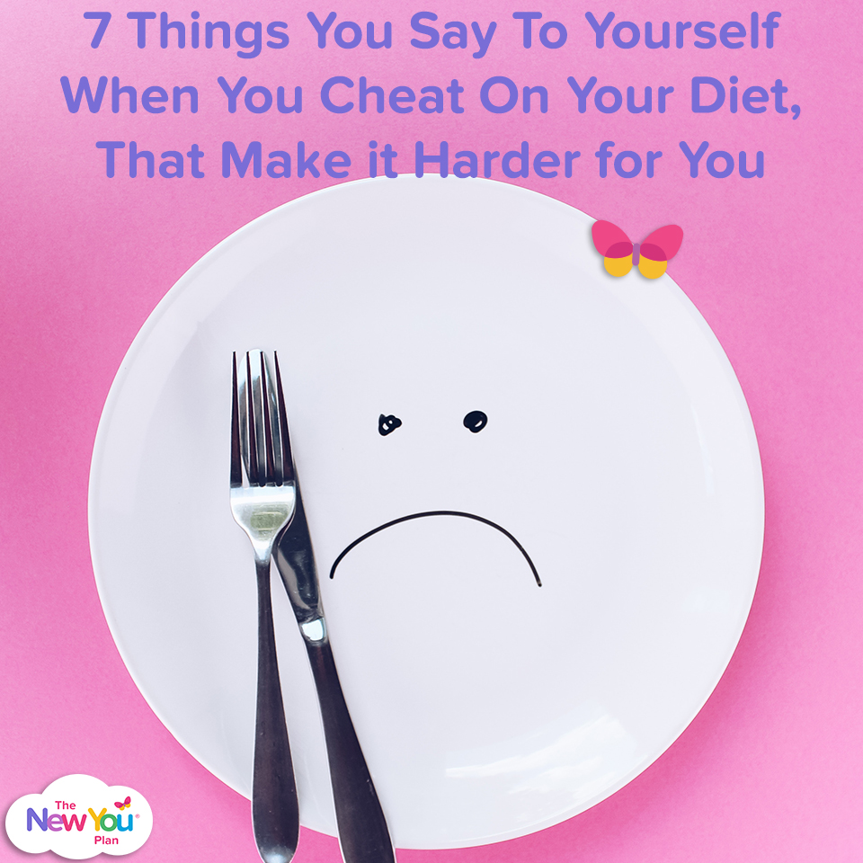 7 Things You Say To Yourself When You Cheat On Your Diet, That Make it Harder for You