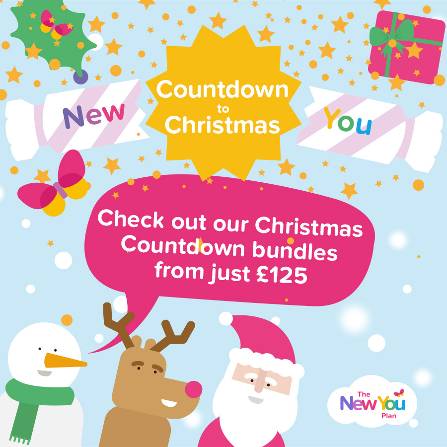 Countdown to Christmas with The New You Plan Bundles!*