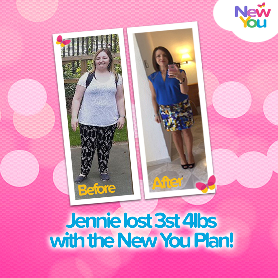 Customer Interview – Jennie lost 3st 4lbs and transformed her life with The New You Plan!*
