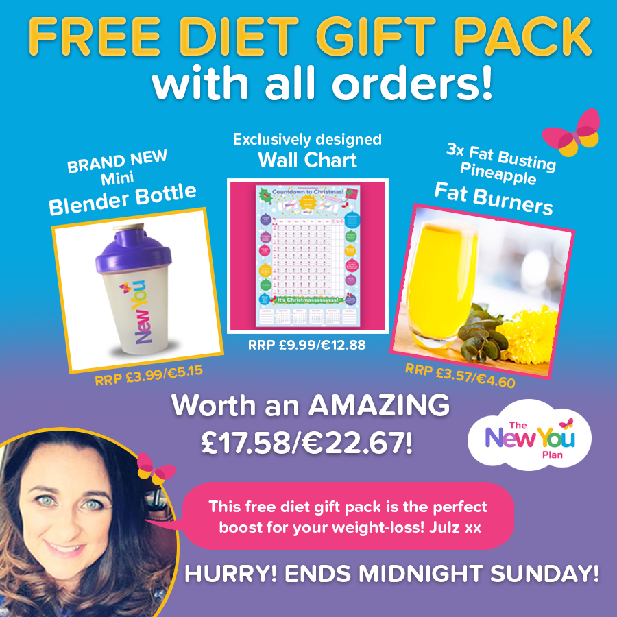 FREE DIET GIFT PACK WITH ALL ORDERS!