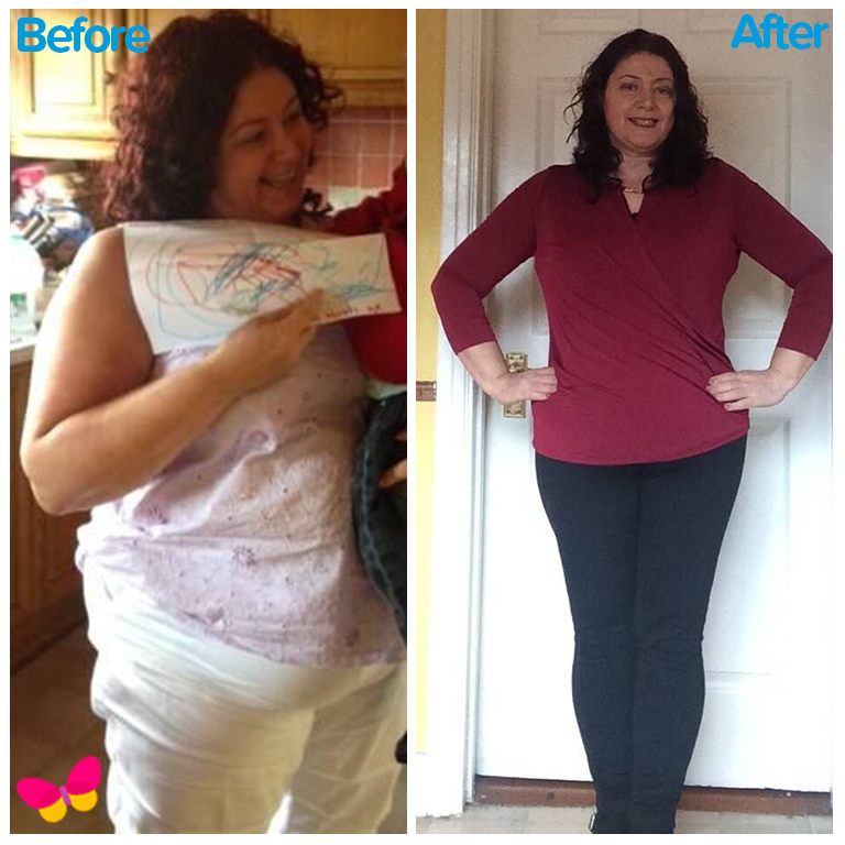 New You Plan before and after