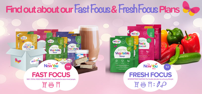 New You Fast Focus & Fresh Focus Diet Meal Plans