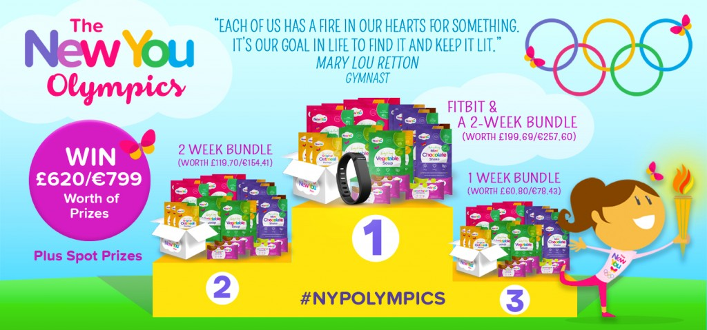 #NYPOLYMPIC Challenge – £620/€799 worth of Prizes