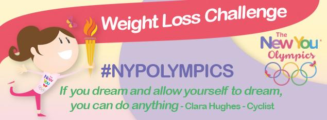 [Registration] #NYPOLYMPICS Weight Loss Challenge