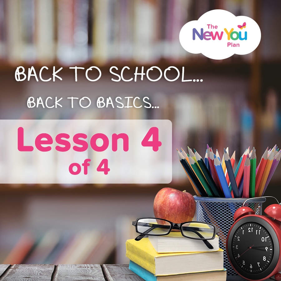 [Back To New You School] Lesson 4 Of 4: Calm Down & Get Your Life In Order