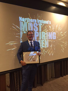 Julie-Ann crowned one of Northern Ireland's Most Inspiring Women 2016 by Business First!