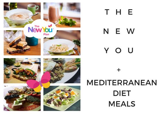 The New You Plan + Mediterranean Diet