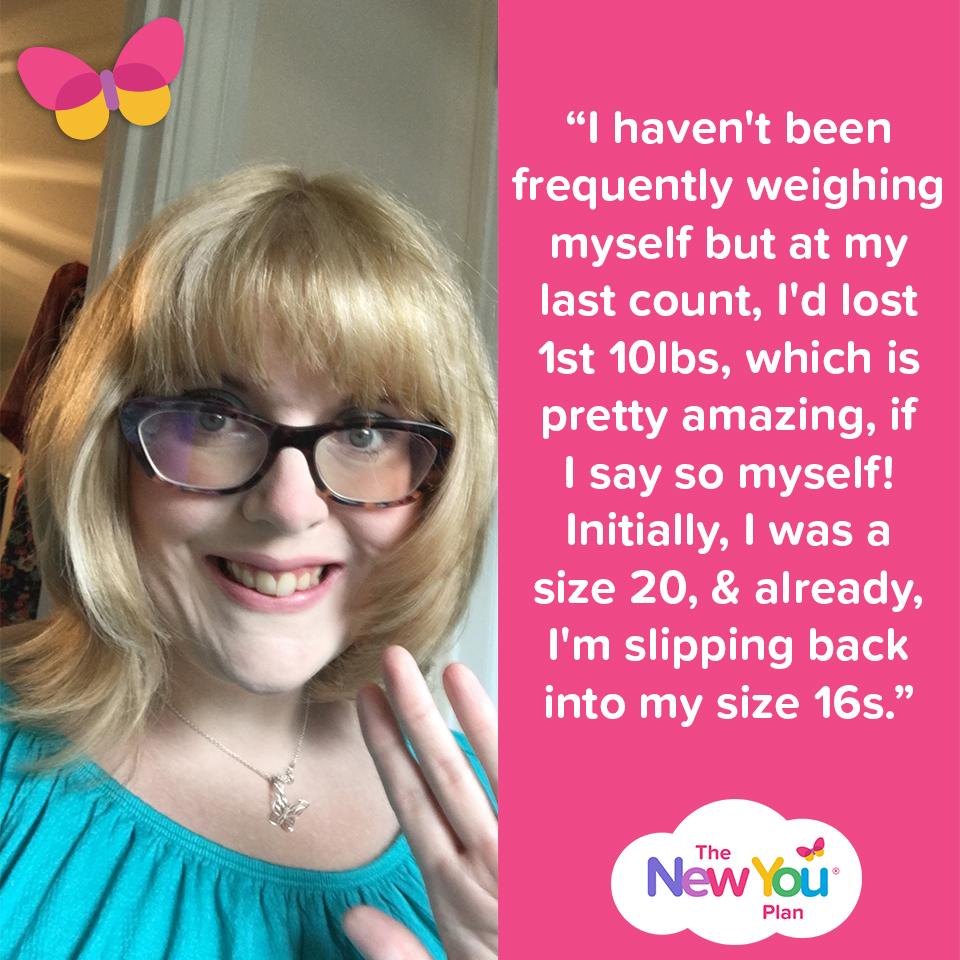 lost 24lbs with New You