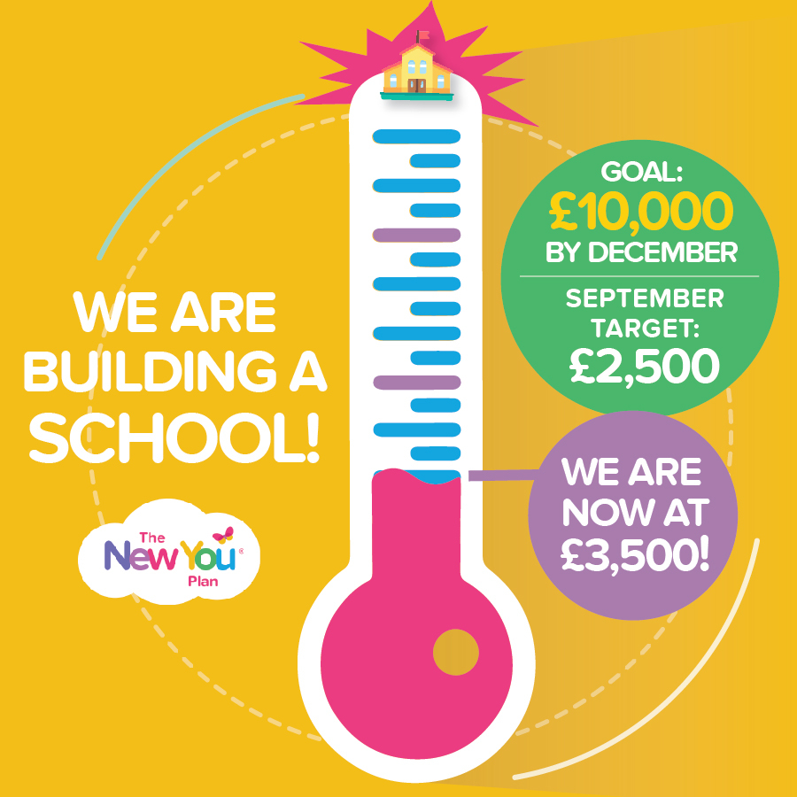 {UPDATE}: Help New You build a school in Kenya. Our journey to £10,000!