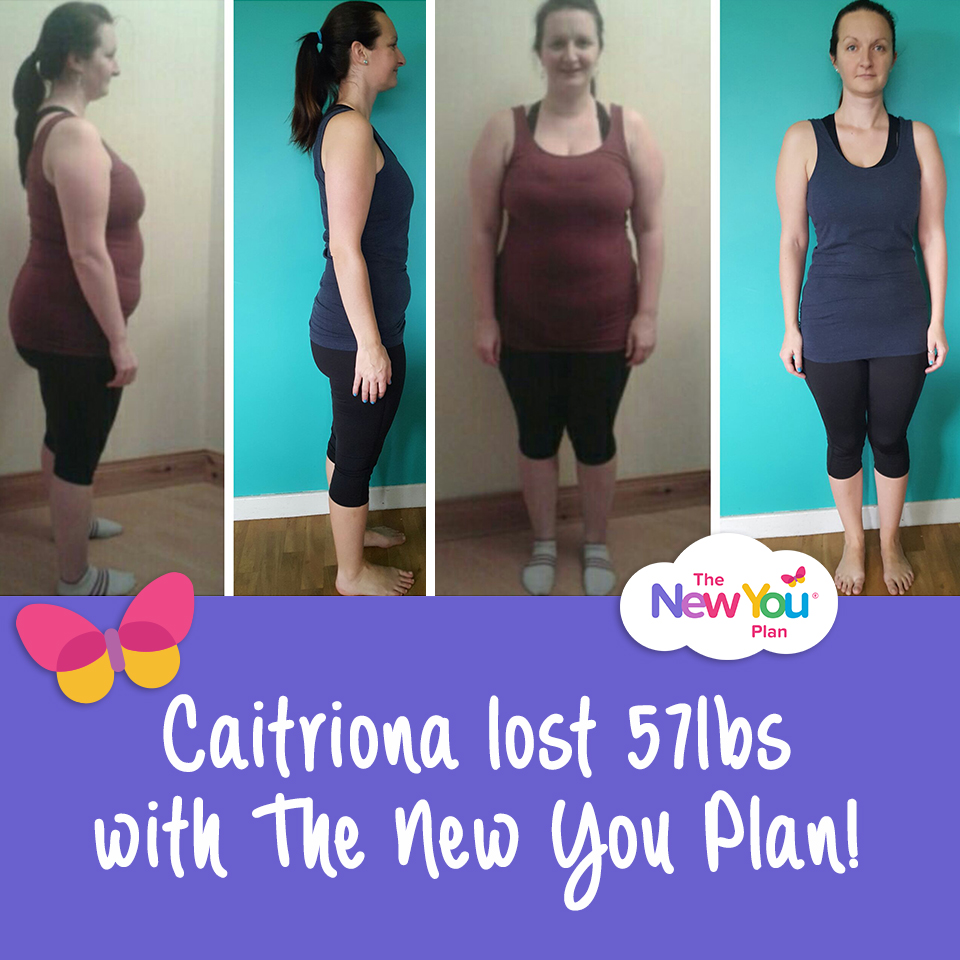 Caitriona's 57lb New You Plan weight loss results*