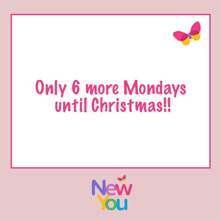 { Motivational Monday } The Countdown to Christmas has begun!