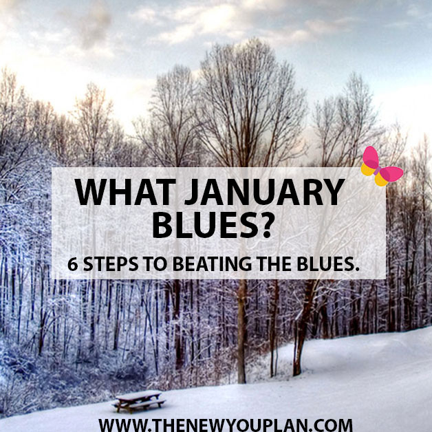 What January Blues? 6 Steps to Beating the Blues.. by Candida Woolcott