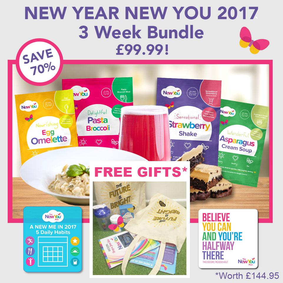 New Year New You 2017 – 3 Week Bundle!