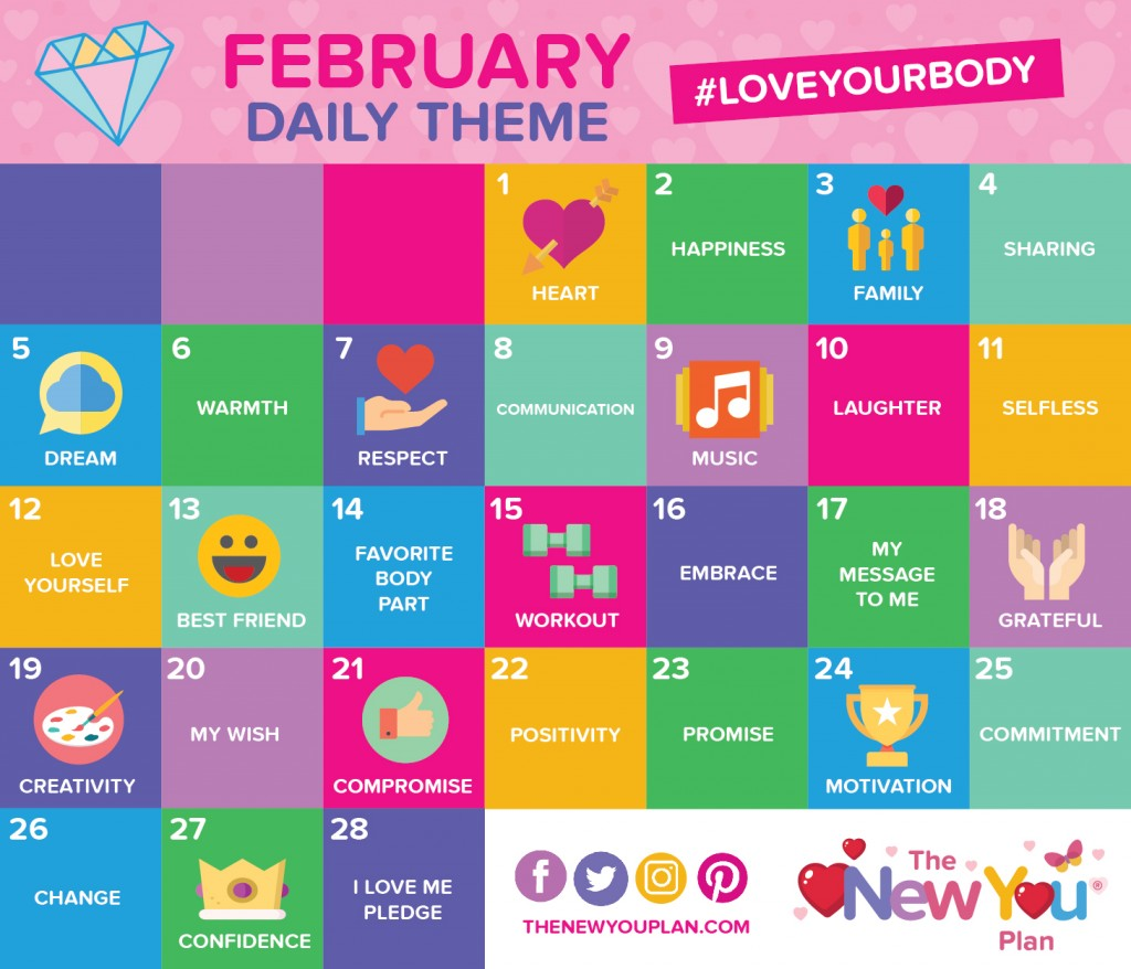 {CHALLENGE} February Daily Theme!