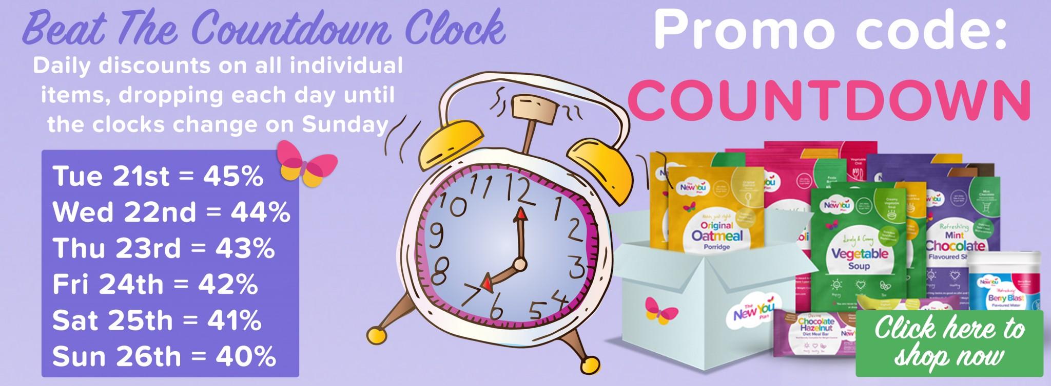 Beat The Clock offer