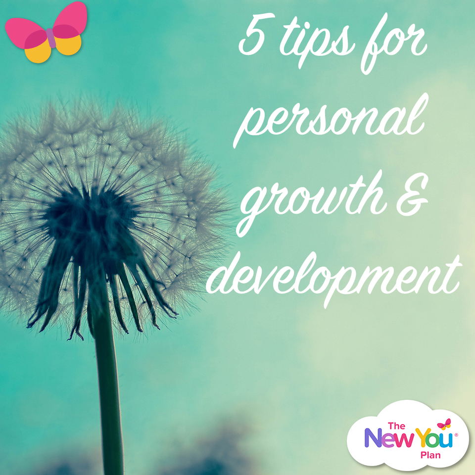 5 Tips For Personal Growth & Development